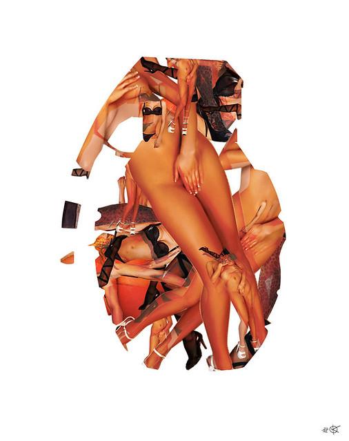 Sex Bomb Collage. Buy print: society6.com/MarkoKoeppe/Sex-Bomb_Print