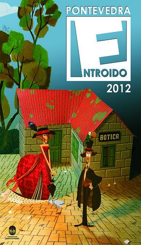 Pontevedra 2012 - Entroido - cartel