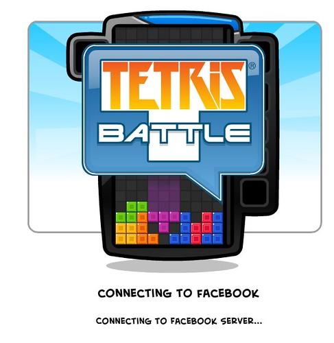(5) FacebookのTetris Battle