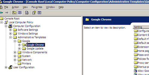 chrome group policy download