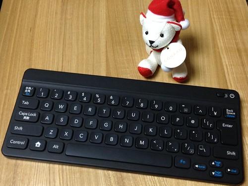 ポケモンタイピングDSのBluetoothキーボード、クロも購入 !