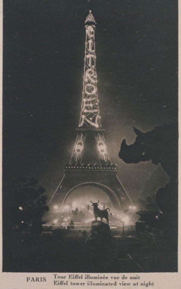 El d a que la torre eiffel fue cartel publicitario taringa for Quien hizo la torre eiffel