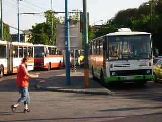 Karosa bus in Bratislava, Slovakia