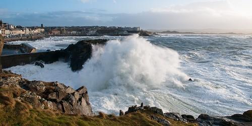 Portstewart Storm Waves