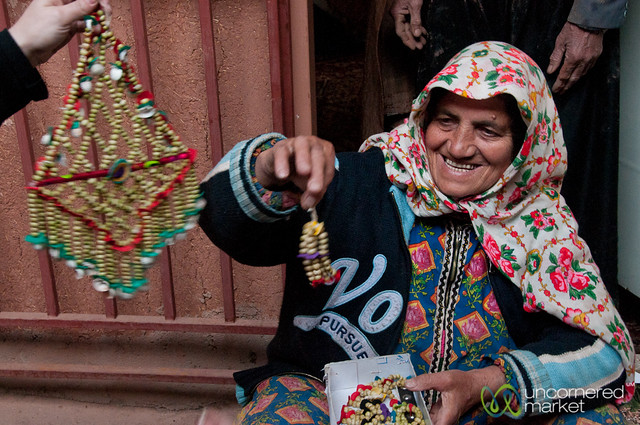 Abyaneh Woman and Jewelry - Iran