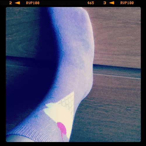 Ice cream socks! You can see my tat through it too. #icecream #tattoo
