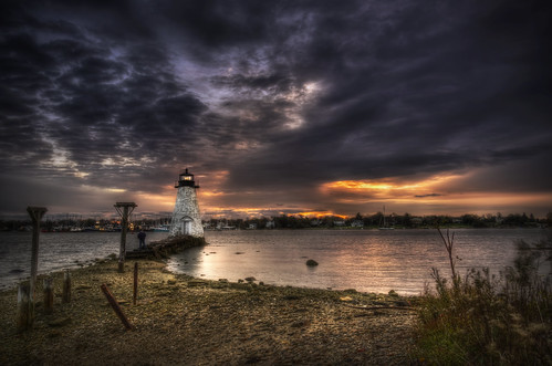 Palmer's Island Light at Sunrise