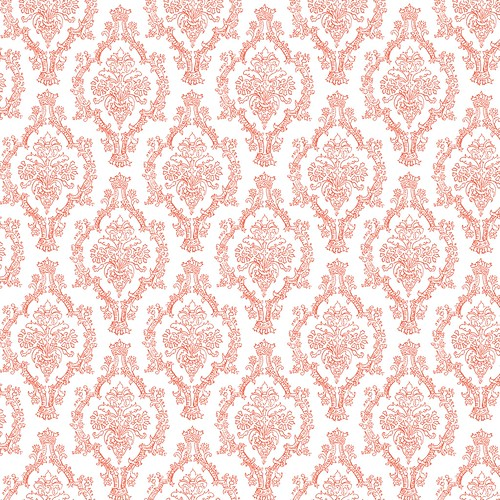 3-papaya_BRIGHT_PENCIL_DAMASK_OUTLINE_melstampz_12_and_half_inch_SQ_350dpi