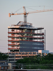 SECU headquarters construction, Raleigh, NC