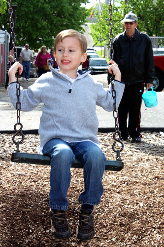 Nathan-on-swing