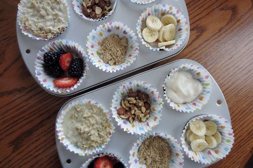 Muffin Tin Monday Oatmeal 4
