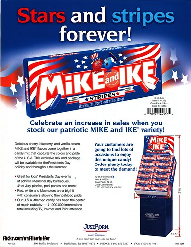 Mike and Ike STRIPES - 2002