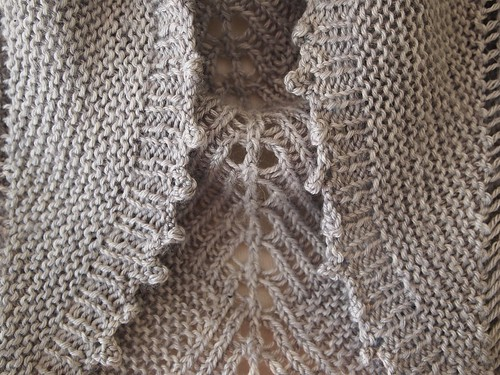 Sharktooth shawl by Stephen West