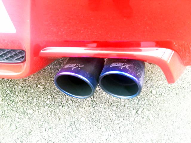 ESX 2011 Exhaust