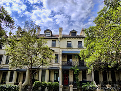 Rockwall Cresent Terrace houses
