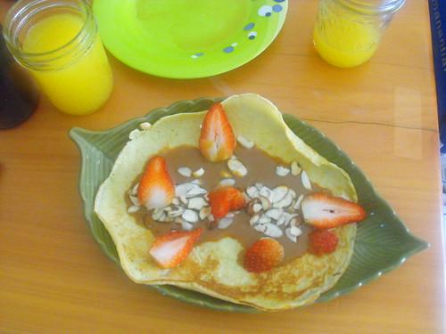 Crepas al desayuno