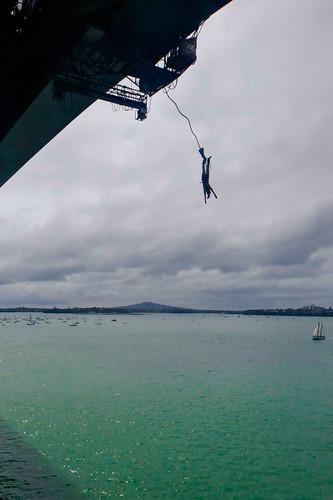 Auckland Bridge Bungy Jump