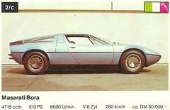 model car(0.0), lamborghini silhouette(0.0), lamborghini jalpa(0.0), race car(1.0), automobile(1.0), maserati merak(1.0), vehicle(1.0), stock car racing(1.0), performance car(1.0), maserati bora(1.0), land vehicle(1.0), luxury vehicle(1.0), coupã©(1.0), supercar(1.0), sports car(1.0),