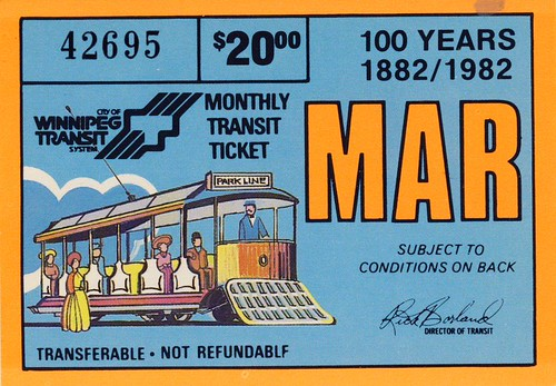 1882-1982 transit pass 100  years by buflyer200