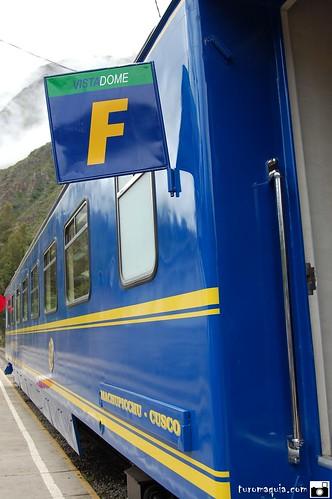 Vistadome - Trem para Machu Picchu