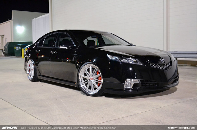 Cass F S Acura Tl On Work Varianza A6s Step Rim Msp