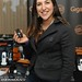 "Mayim Bialik from ""Big Bang Theory"" with the Gigaset L410"