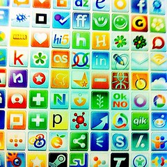 Nice design - social media landscape #isoiec by SylwiaPresleyArt, on Flickr