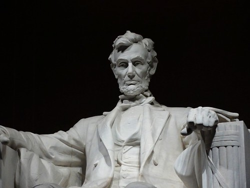 Abraham Lincoln Statue Close Up