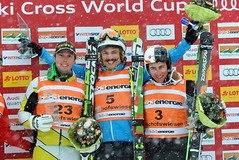 Dave Duncan finishes second and lands on the World Cup podium in Bischofswiesen/Goetschen, Germany.
