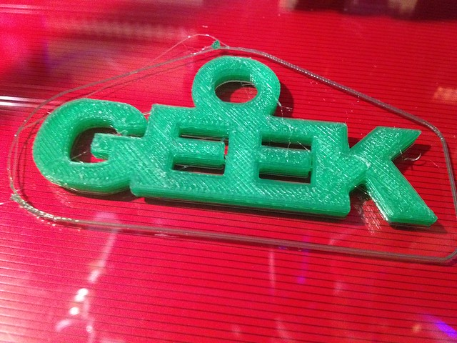 Geek success!