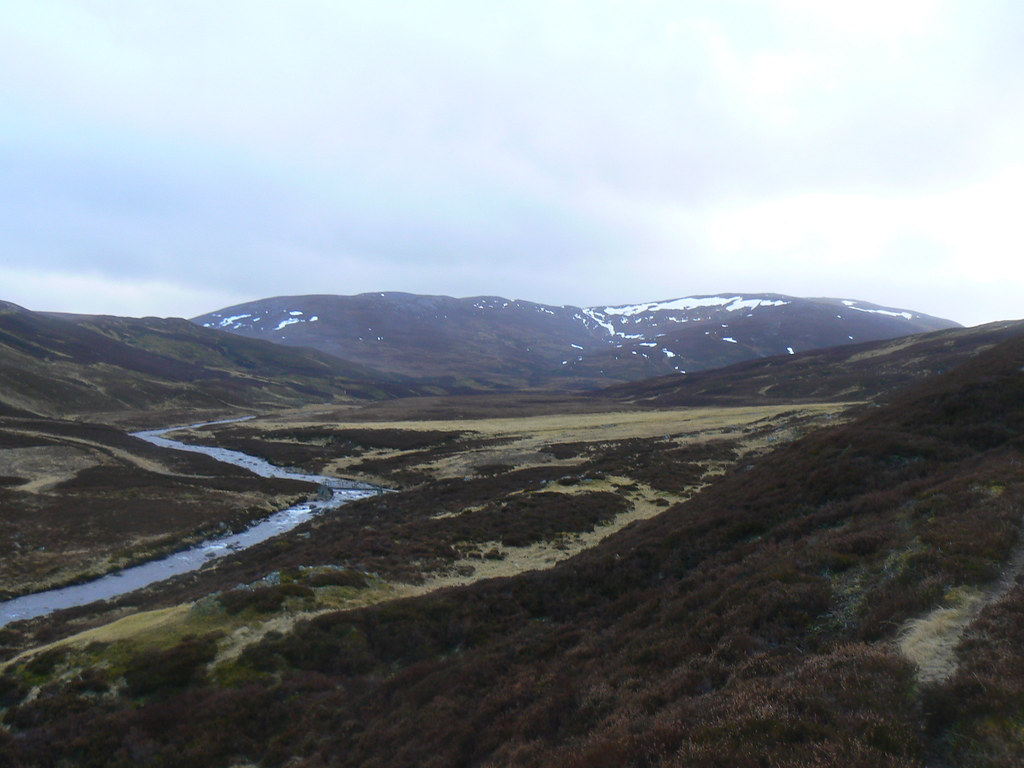 Carn Liath above Glen Gairn