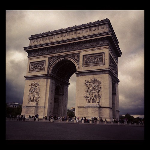 Arc de Triomphe - Paris France