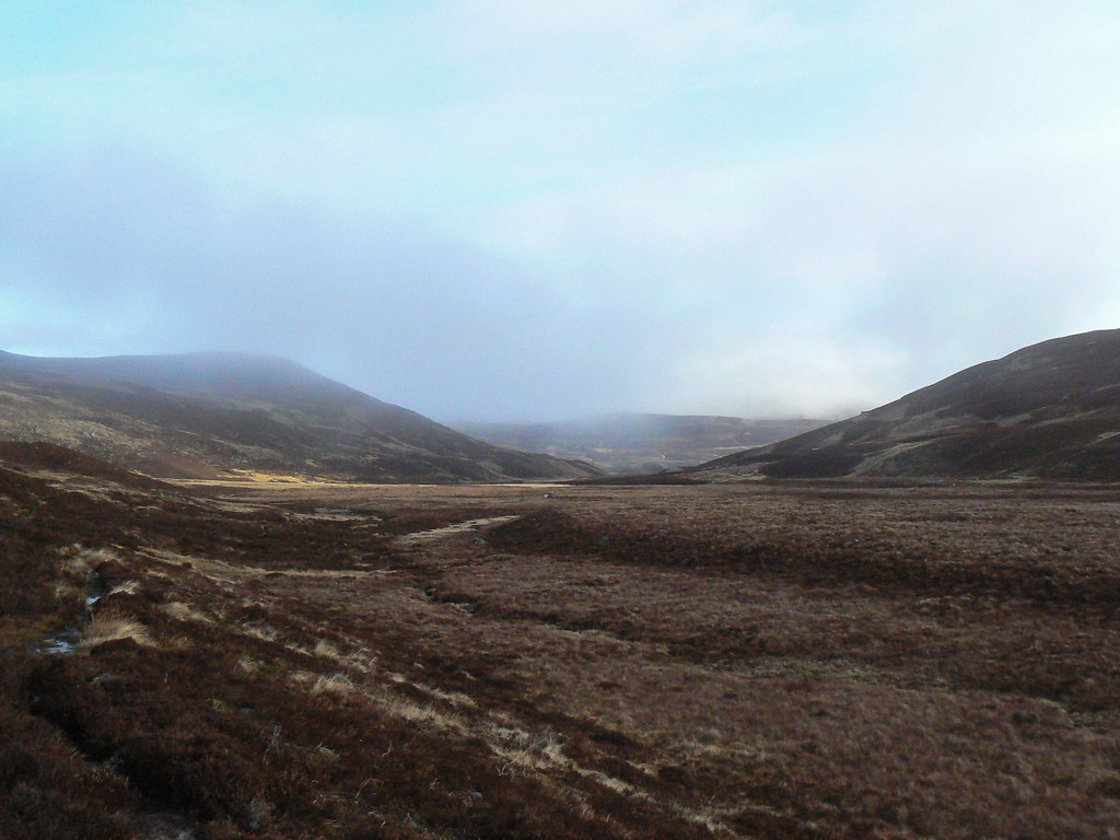 Mist in Glen Gairn