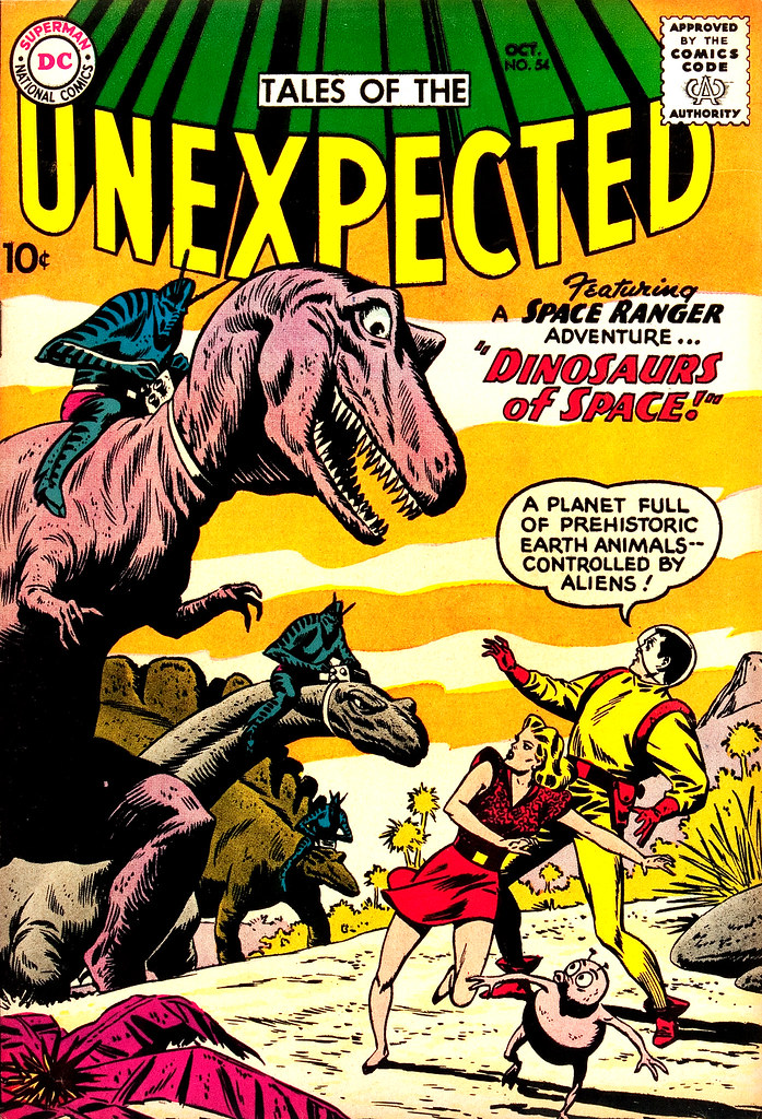 Tales of the Unexpected #54 (DC, 1960) Bob Brown cover