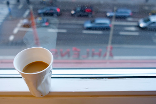 An ordinary Coffe with a view