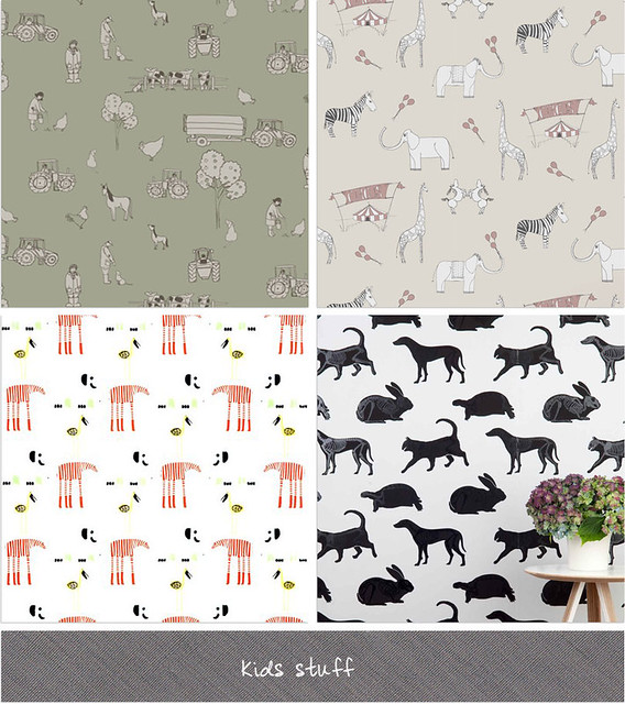 Katie Bourne Wallpaper Farm by Katie Bourne