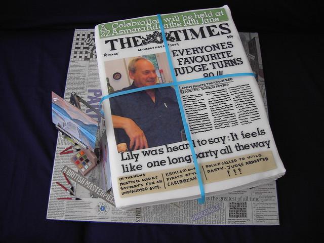 Newspaper Design Cake : 6945132093_2c74d27b48_z.jpg