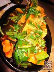 Adobong Kangkong Stuffed Tofu
