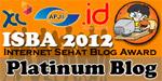 Internet Sehat Blog Award 2012 Platinum Blog