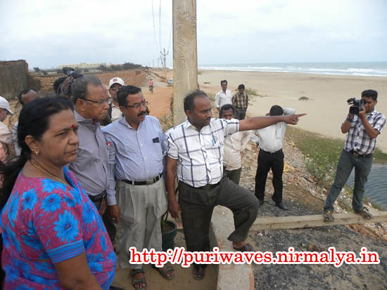 Beach Erosion – No Tsunami threat to Odisha Coast