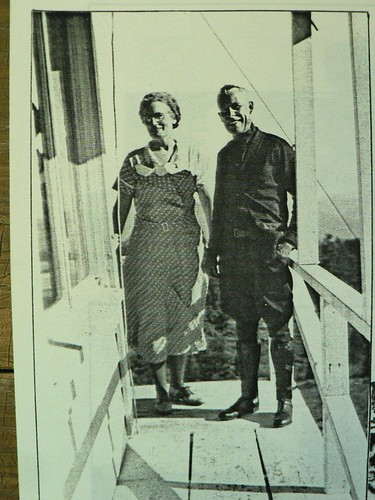 Ranger and Mrs Green, 1928