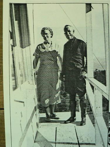 Ranger and Mrs Green, 1928