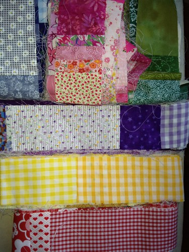 Rainbow of patchwork!