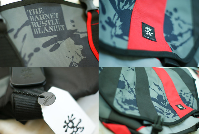 Crumpler collage
