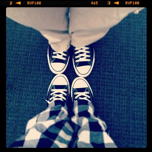 His & hers new chucks.