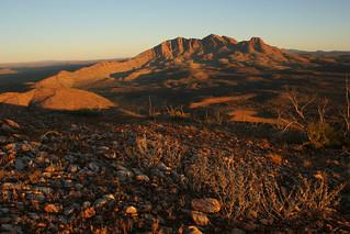 Mount Sonder sunrise