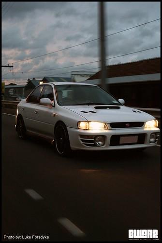 White WRX