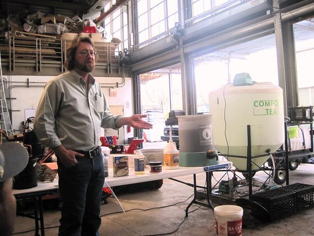 Compost expert Peter Schmidt