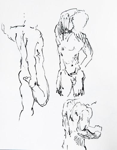 Life Drawing - 03-07-12-3
