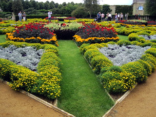 Formal garden, Wrest Park, Silsoe, Bedfordshire